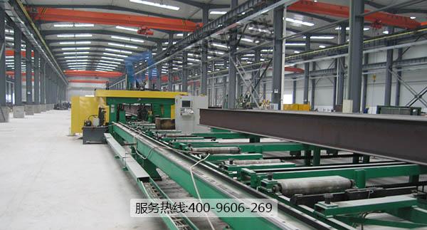苏州昆山生产线钢结构基础