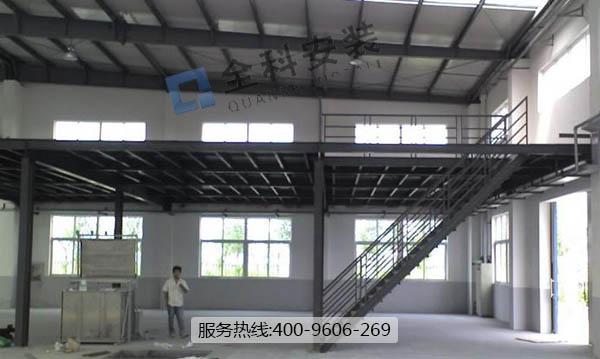 苏州昆山工厂室内钢结构平台
