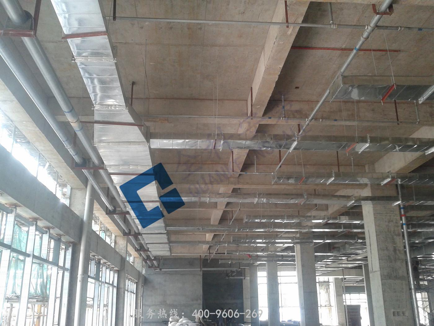 关于通风管道设计安装施工工艺
